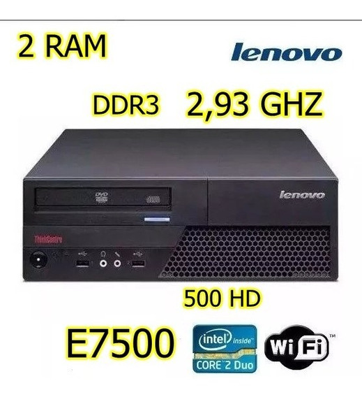 Cpu Lenovo Thinkcentre 300 Hd 2,93 Ghz Core 2duo 2 Ram Ddr3
