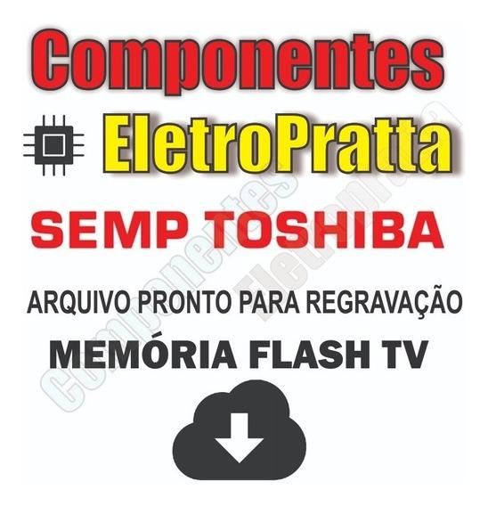 Arquivo Dados Memoria Nand + Flash Tv Semp Le4057i(c)