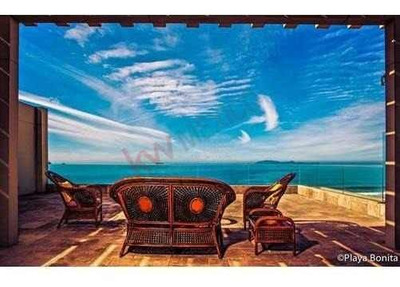 Condominios En Venta De Lujo Con 3 Recámaras En Playa Bonita, Completamente Equipados Y Amueblados, Con Vista Al Mar Y Seguridad Las 24hr.