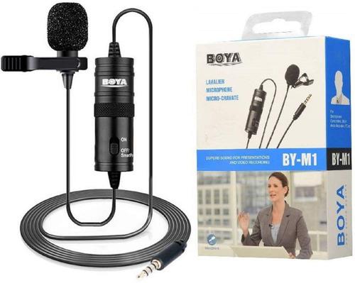 Imagen 1 de 7 de Microfono Boya Solapa Especial Para Camaras Y Celulares
