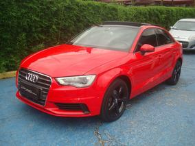 Audi A3 1.4 Tfsi Flex Tiptronic Vermelho