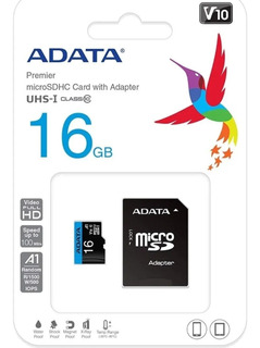Micro Sd 80mb/s Adata 16gb