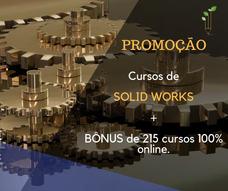 Curso De Solid Works, Autocad, Promob E Archicad + Bônus
