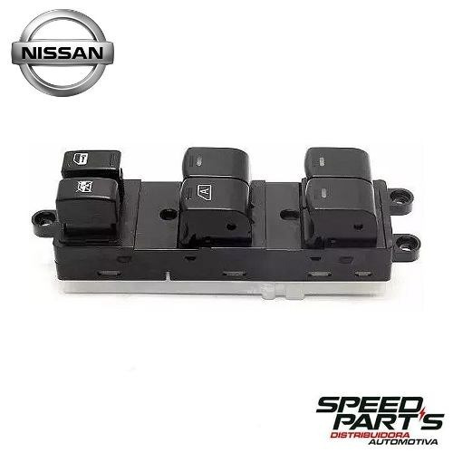 Botão Interruptor Vidro Elétrico Nissan Frontier 1 Plug