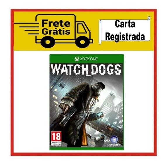 Watchdogs P/ Xbox One - Em Mídia Física (novo E Lacrado)
