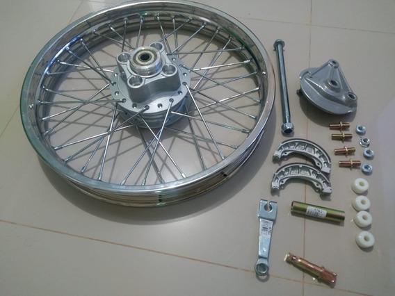 Roda Traseira Cg / Ml / Turuna / Xls / Titan 99 Completa 11