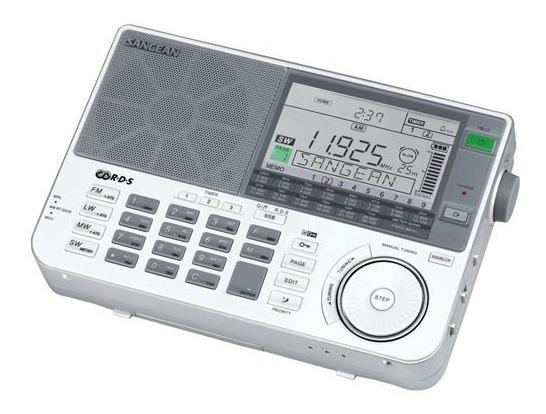 Rádio Sangean Ats-909x Am Fm Stéreo Lw Sw Alto Desempenho