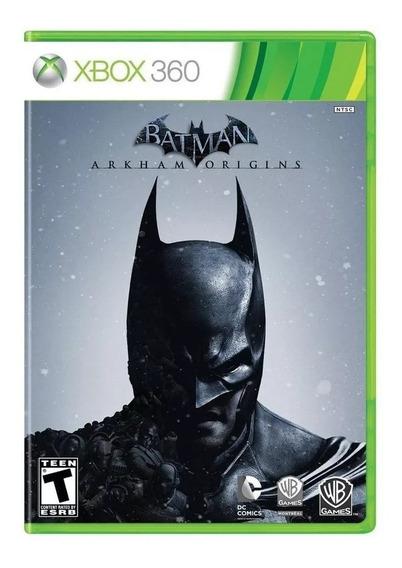 Jogo Xbox 360 Batman Arkham Origins - Usado - Ótimo Estado