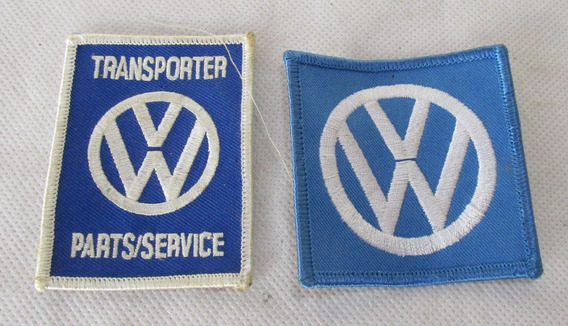 Vintage Parches Bordados Volkwsagen Logo Autos #l