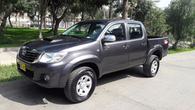 Toyota Hilux 2013 4x4 T/intercooler,lunas Electricas,uso Par