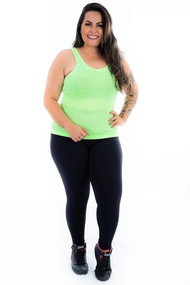 Blusa Academia Furadinha Moda Fitness