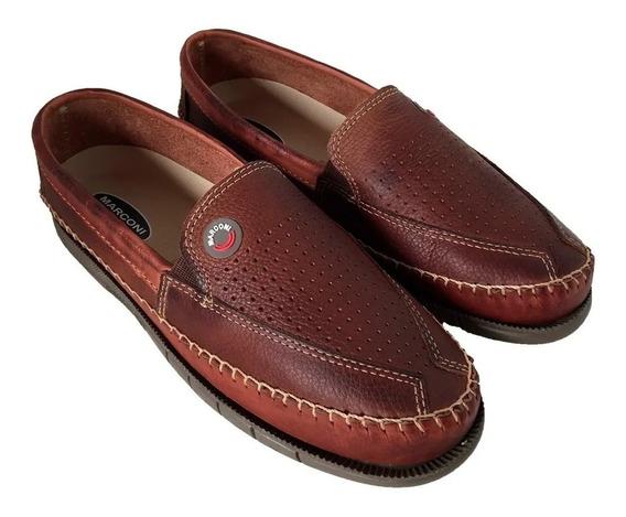 Sapato Sapatilha Masculino Em Couro
