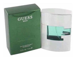 Perfume Eau De Toilette Guess Man 100% Original 75ml