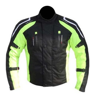 Chamarra Deportiva R7 Racing Ngo/vde R7-0902 Rider One