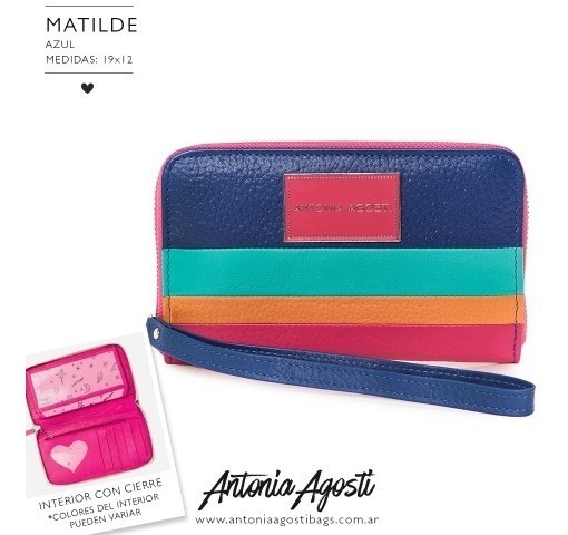 Billeteras Matilde Antonia Agosti - Son Guapas
