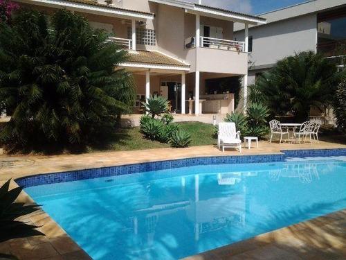 Casa À Venda, 330 M² Por R$ 2.600.000,00 - Alphaville - Campinas/sp - Ca0215