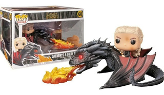 Funko Pop! Rides Game Of Thrones Daenerys On Fiery Dragon 68