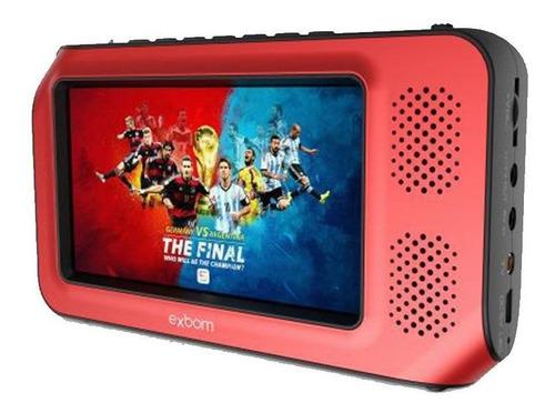Mini Tv Multimídia Portátil Full Hd 4.3  Mtv-45h Exbom