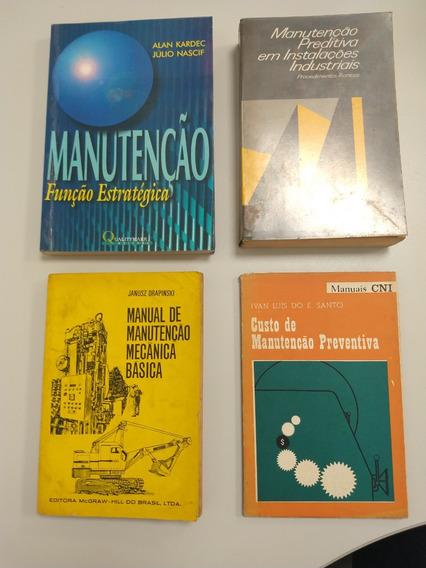 Livros Manutenção Kardec, Nascif, Nepomuceno, Drapinski