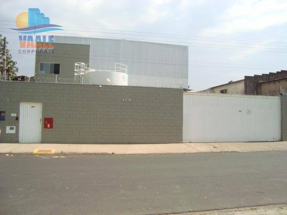 Galpão Industrial Para Venda E Locação, Jardim Boa Vista, Hortolândia. - Ga0175