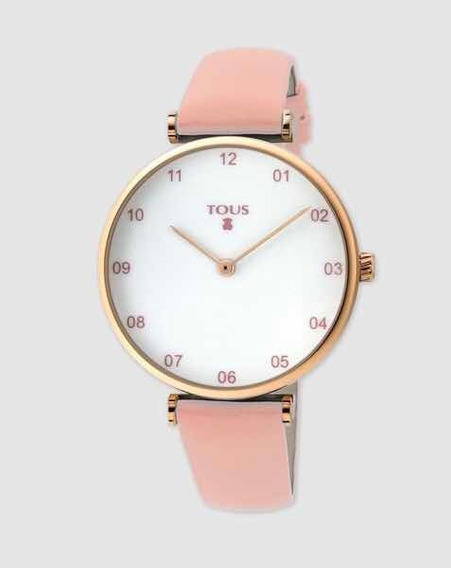 Reloj Tous Original Camille Rosa Para Mujer
