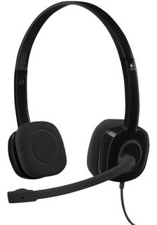 Auriculares Con Micrófono Headset H151 Pc Ps4 Logitech