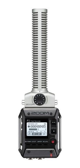 Zoom Gravador Digital F1-sp Com Microfone Shotgun