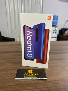 Celular Redmi 8 Azul 64gb Novo