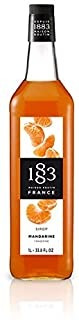 1883 Maison Routin - Tangerine Syrup - Made In France - Glas
