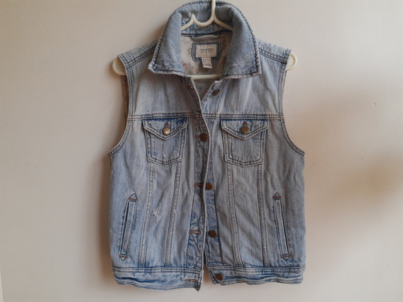 Ganga Chaleco Jeans Mujer Forever 21 Talle S