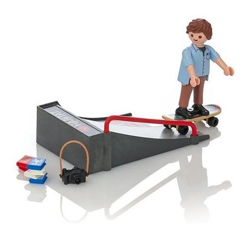 Playmobil Special Plus Skater Con Rampa Empaque Roto 10%off