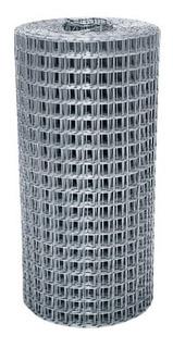 Tela Soldada Galvanizada Para Fachada 50cm X 25m (2,5x2,5cm)