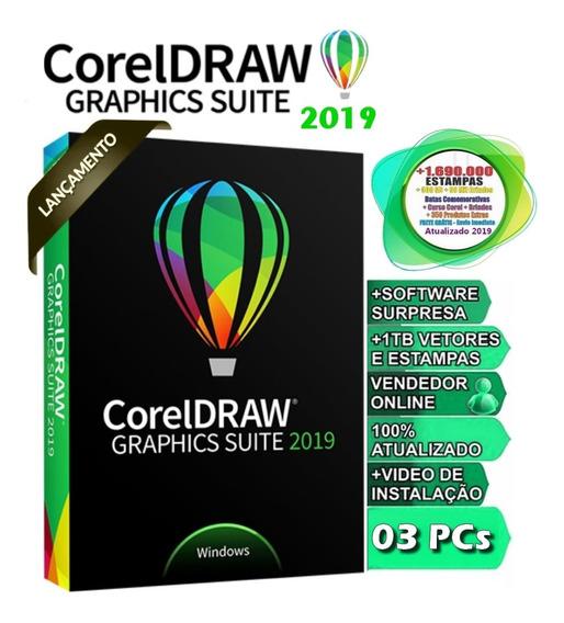 Corel Draw Suite 2019 Envio Rápido Corel Coreldraw