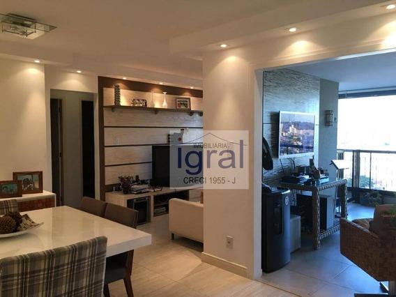 Apartamento Com 2 Dormitórios À Venda, 97 M² Por R$ 800.000 - Vila Monte Alegre - São Paulo/sp - Ap0360