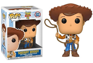 Funko Pop Toy Story 4 - Woody #522 Original