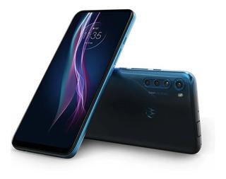 Motorola One Fusion Plus Azul,câm.tras.64+8+5+2mp 128gb