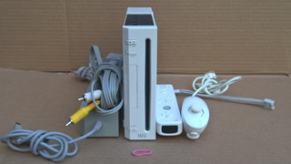 Nintendo Wii Blanco