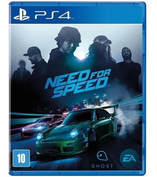 Jogo Need For Speed Ps4 Playstation 4 Mídia Física Original
