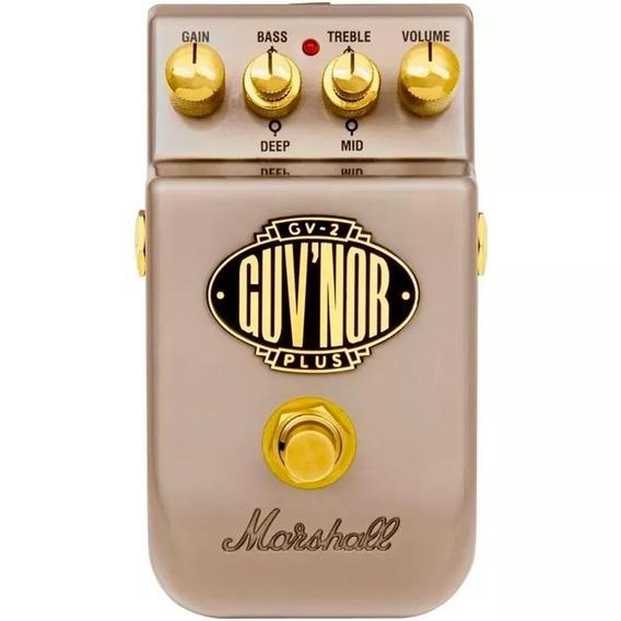 Pedal Guitarra Marshall Gv2 Guvnor Plus Overdrive