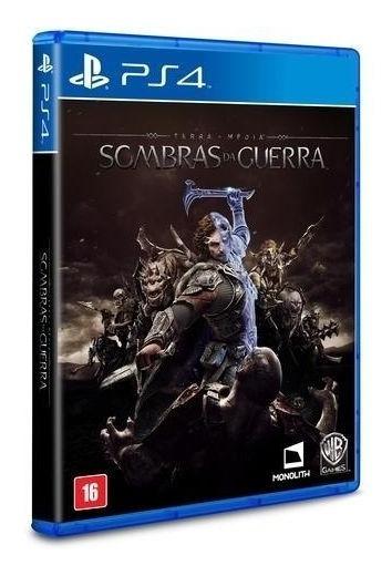 Game Sombras Da Guerra - Ps4 (usado)
