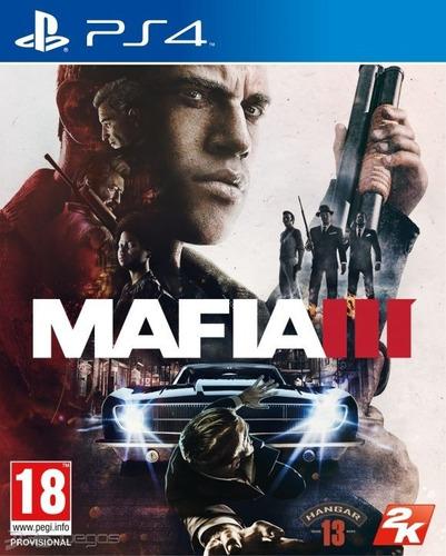 Mafia 3 Ps4 - Juego Fisico - Prophone