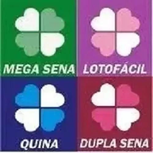 Tabelas_mega Sena, Loto Fácil, Quina E Dupla Sena