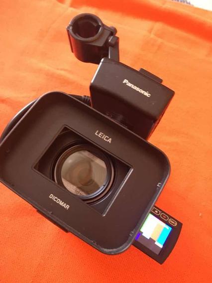 Ag-hmc40 Filmadora Panasonic Com Adaptador Xlr