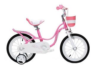 Bicicleta Niña Royal Baby Little Swan Rod 14