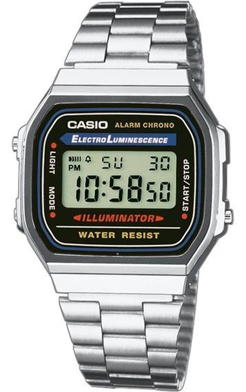 Relógio Casio Digital A168wa Original / + Brinde