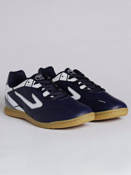 Tênis Futsal Masculino Topper Cup Ii Azul Marinho/branco