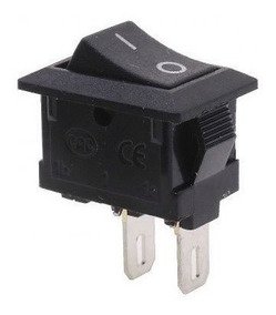 Botão Chave Interruptor Mini Liga Desliga On Off 15 Peças