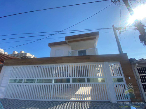 Imagem 1 de 14 de Casa De Condomínio Com 2 Dorms, Aviação, Praia Grande - R$ 220 Mil, Cod: 9562 - V9562