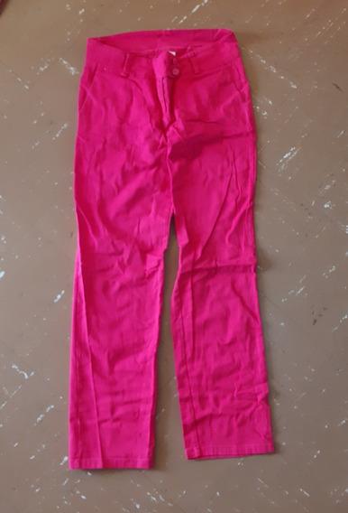 Pantalon De Vestir Para Dama Fucsia