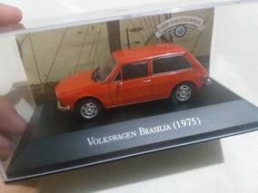 Volkswagen Brasília 1975 Escala 1/43 Carros Inesquecíveis